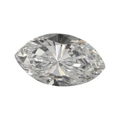 .46 Carat Loose Diamond, Marquise Cut GIA Graded Solitaire SI2 D