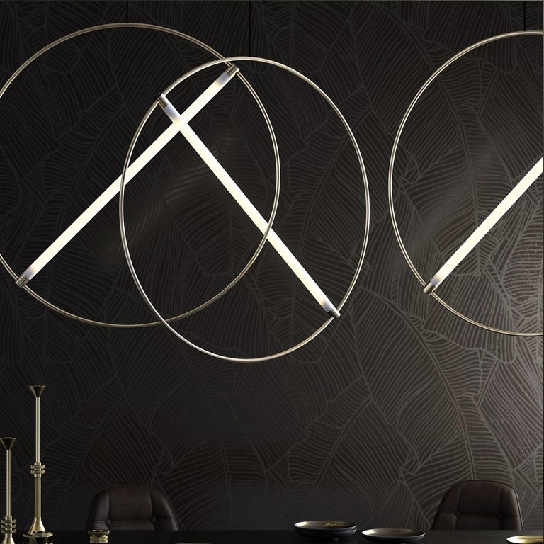 46 Ceiling Lamp by Edizioni Design In New Condition For Sale In Milan, IT
