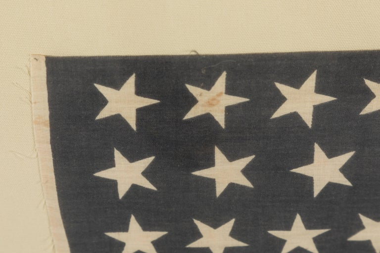 46 Star American Flag Linear Dancing Stars In Good Condition For Sale In Santa Monica, CA