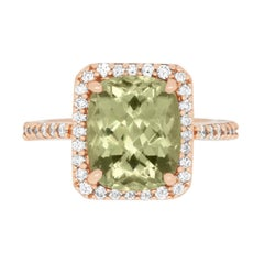 4.74 Carat Color Change Diaspore Ring
