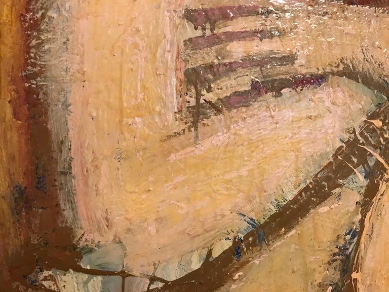 Square Nude by Barbara Dodge In Good Condition For Sale In Pasadena, CA