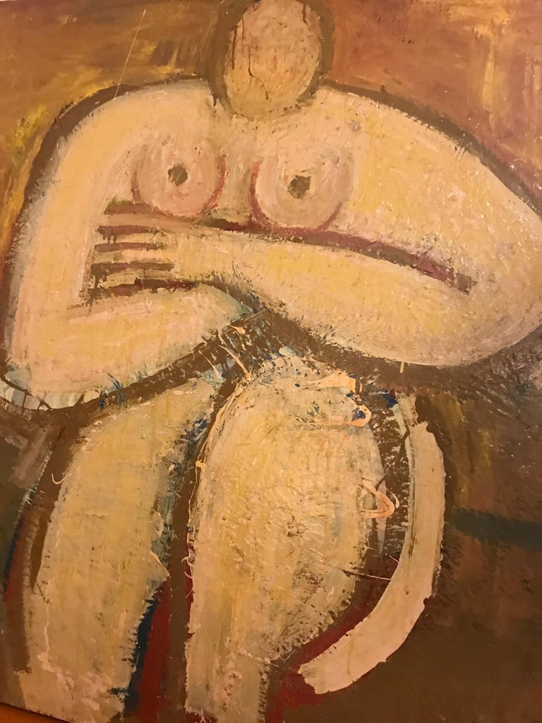 Square Nude by Barbara Dodge For Sale 1