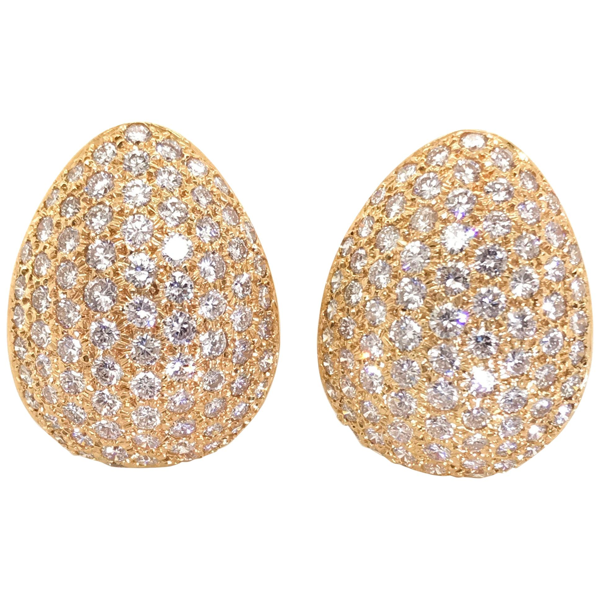 ddbe5d6c6 Diamond, Antique and Vintage Earrings - 21,373 For Sale at 1stdibs