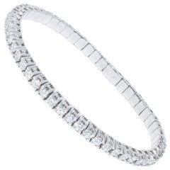 4.88 Carat Diamond Flex Bracelet