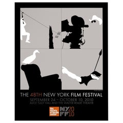 """48th New York Film Festival"" 2010 U.S. Poster"