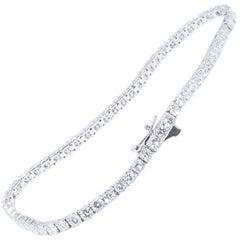 4.92 Carat Diamond Tennis Bracelet