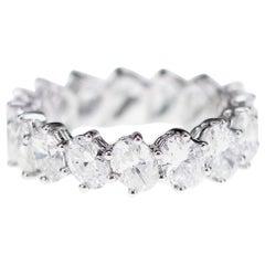 4.97 Carat Diamond Multipurpose Switch Band Ring