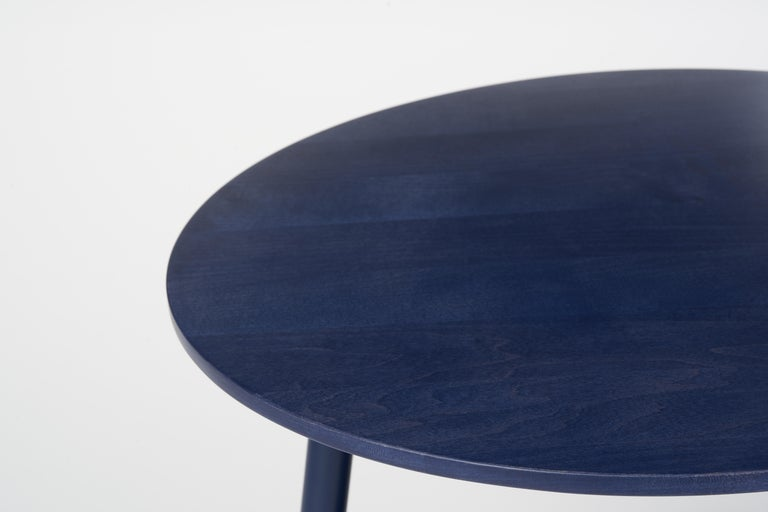 Canadian 49N Coffee Table, Melton Wool and Eco-Friendly Powder Coated Steel Frame For Sale
