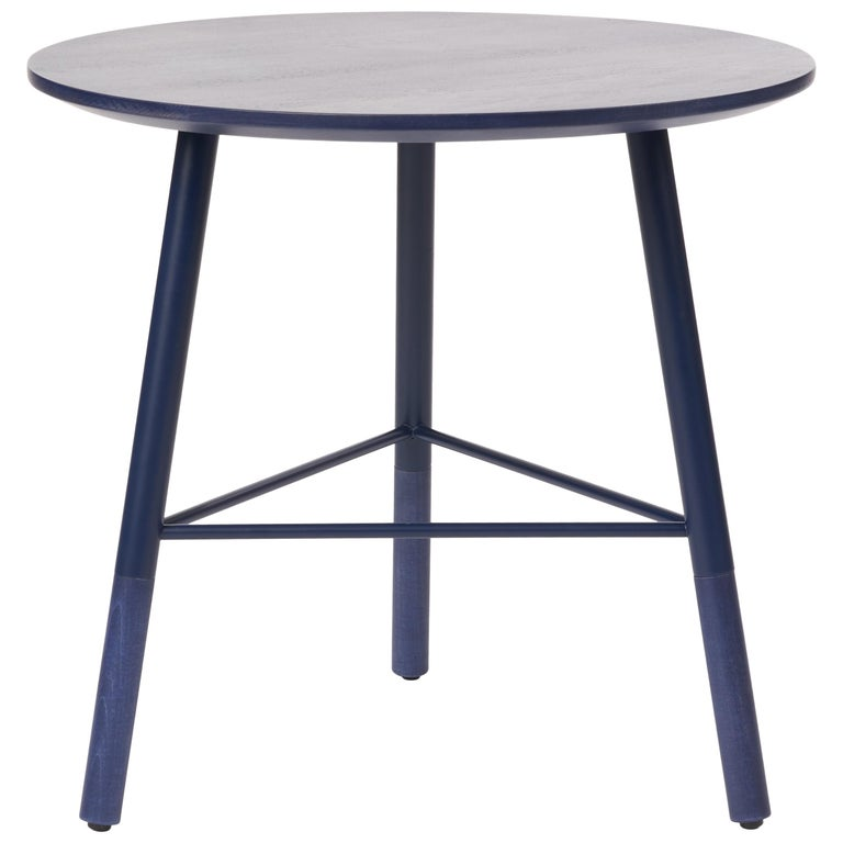 49N Coffee Table, Melton Wool and Eco-Friendly Powder Coated Steel Frame For Sale