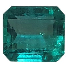 5 Carat Muzo Colombian Emerald 18 Karat Yellow Gold Engagement Ring