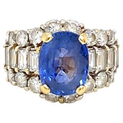 5 Carat Sapphire Ring