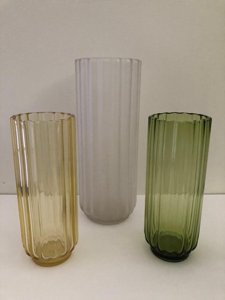 5 George Sakier Art Deco Vases, 1930s For Sale 1