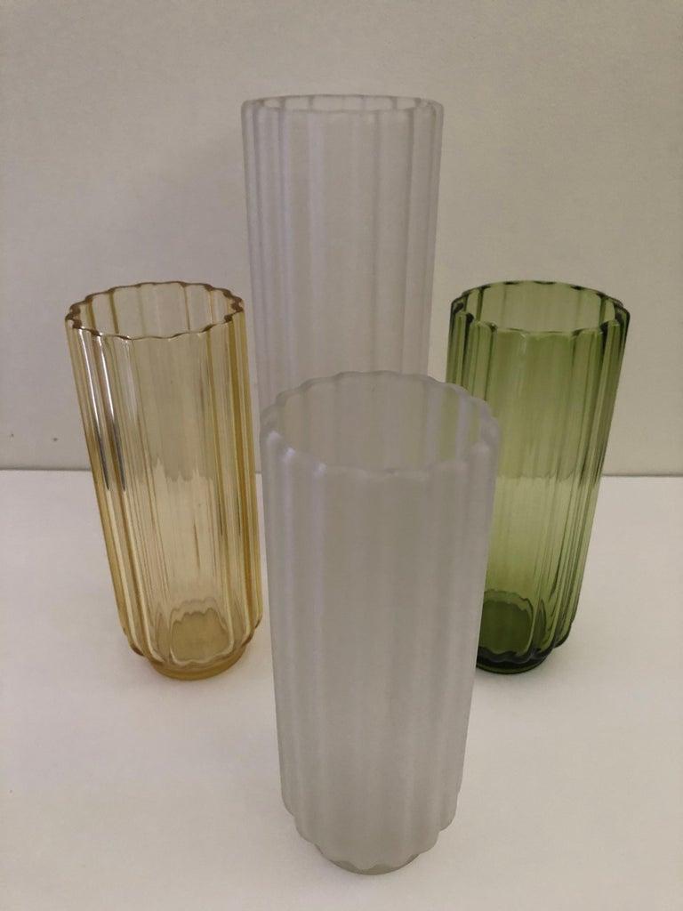 5 George Sakier Art Deco Vases, 1930s For Sale 2