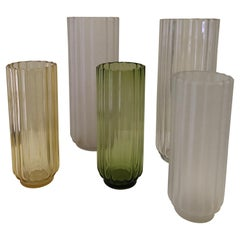 5 George Sakier Art Deco Vases, 1930s