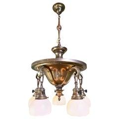 5 Light Arts & Crafts Pan with Steubens