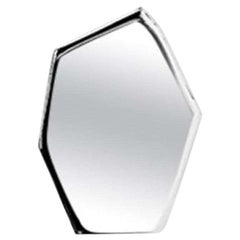 5, Limited Edition Polished Stainless Steel Wall Mirror