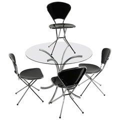5-Piece Niels Gammelgaard for Ikea Dinette Kitchen Set