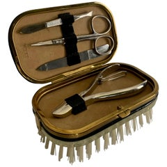 5-Piece Travel Manicure Set with Brush