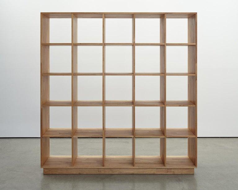 American 5 x 5 Bookcase Laxseries by Mashstudios For Sale