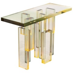 50% Balance, Crystal Series Custom Console Table
