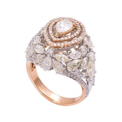 5.0 Carat Diamond 18 Karat Gold Ring