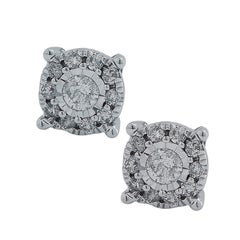 .50 Carat Diamond Cluster Earrings