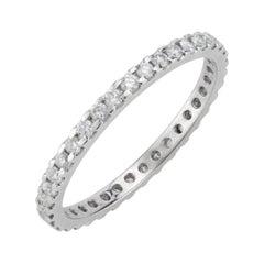 .50 Carat Diamond Common Prong Eternity Band Ring