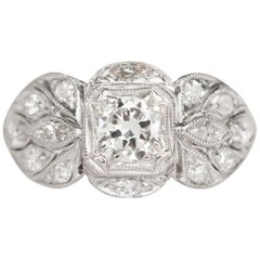 .50 Carat Diamond Platinum Engagement Ring