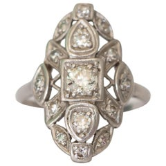 .50 Carat Diamond Platinum Ring
