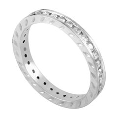 .50 Carat Platinum Diamond Eternity Band Ring