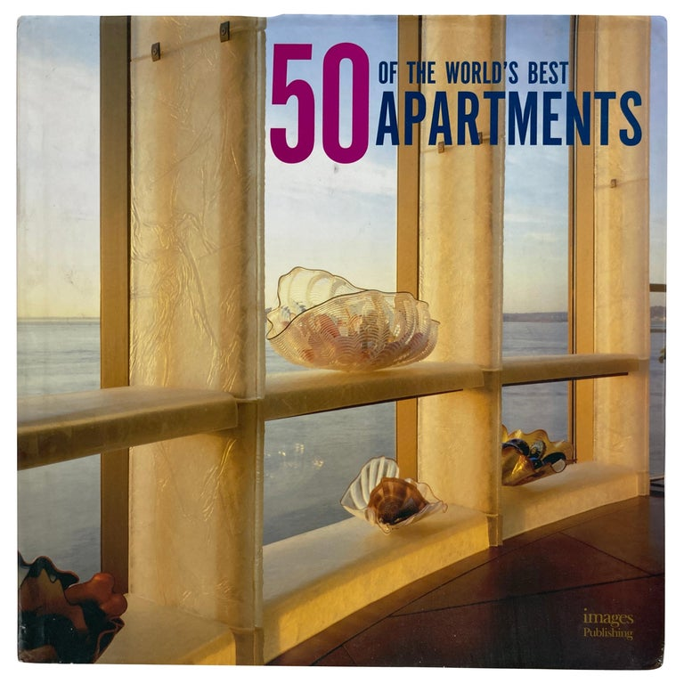 50 of the World's Best Apartments Coffee Table Book For Sale