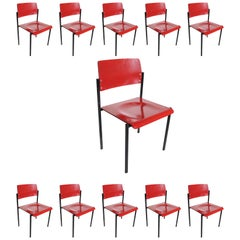 #50 Rare Industrial Design School- Chairs Thonet Stacking Chairs