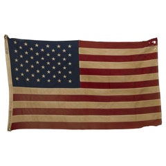 50-Star American Flag, Flown over Capitol on Day 50-Star Flags Became Official