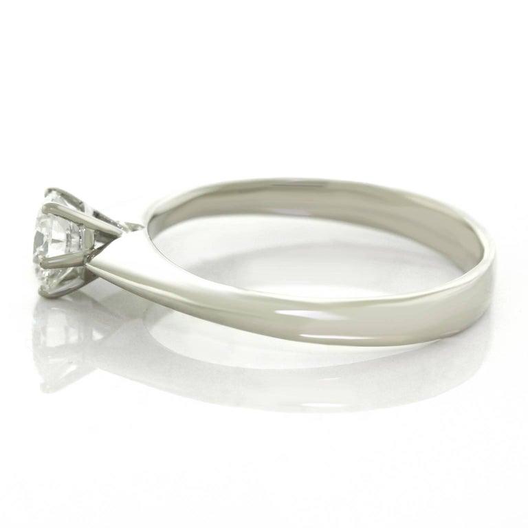 .50ct Diamond Set Platinum Engagement Ring GIA For Sale 3