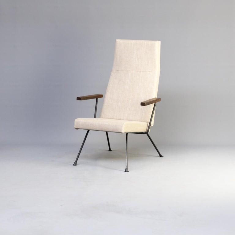 Dutch Design Stoelen Gispen.1950s Andre Cordemeyer Model 1410 Lounge Fauteuil And Ottoman For