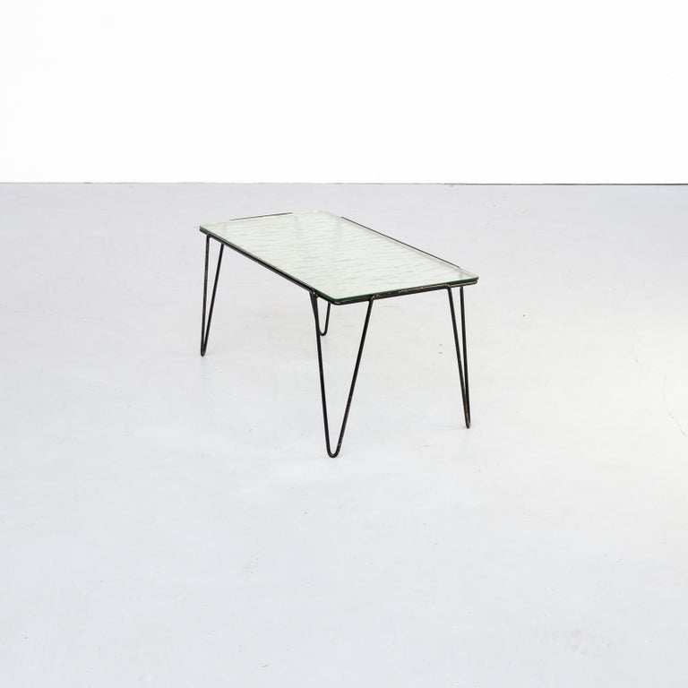 Mid-Century Modern 50s Arnold Bueno de Mesquita Coffee Table for Spurs For Sale