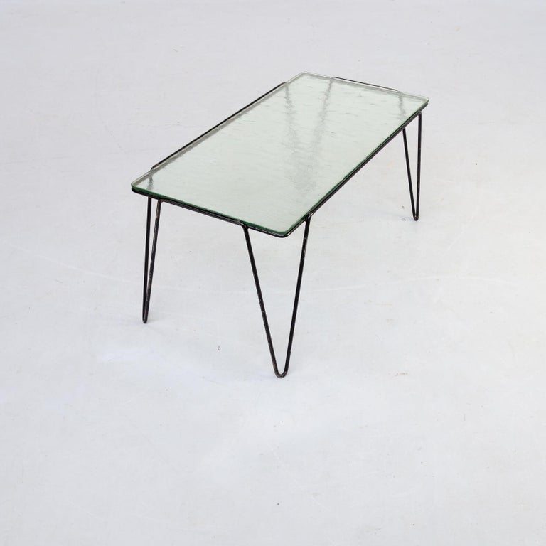 20th Century 50s Arnold Bueno de Mesquita Coffee Table for Spurs For Sale