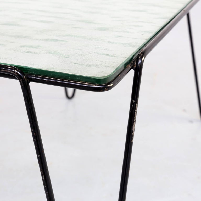 Metal 50s Arnold Bueno de Mesquita Coffee Table for Spurs For Sale