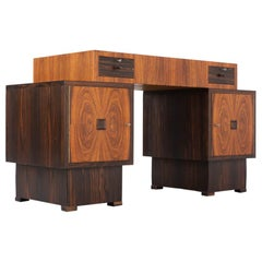 50s Beautiful Writing Desk from the Amsterdam School
