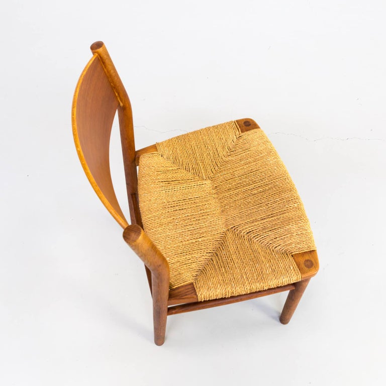 1950s Børge Mogensen 'model 157' Chair for Søborg Møbler Set of 2 For Sale 3