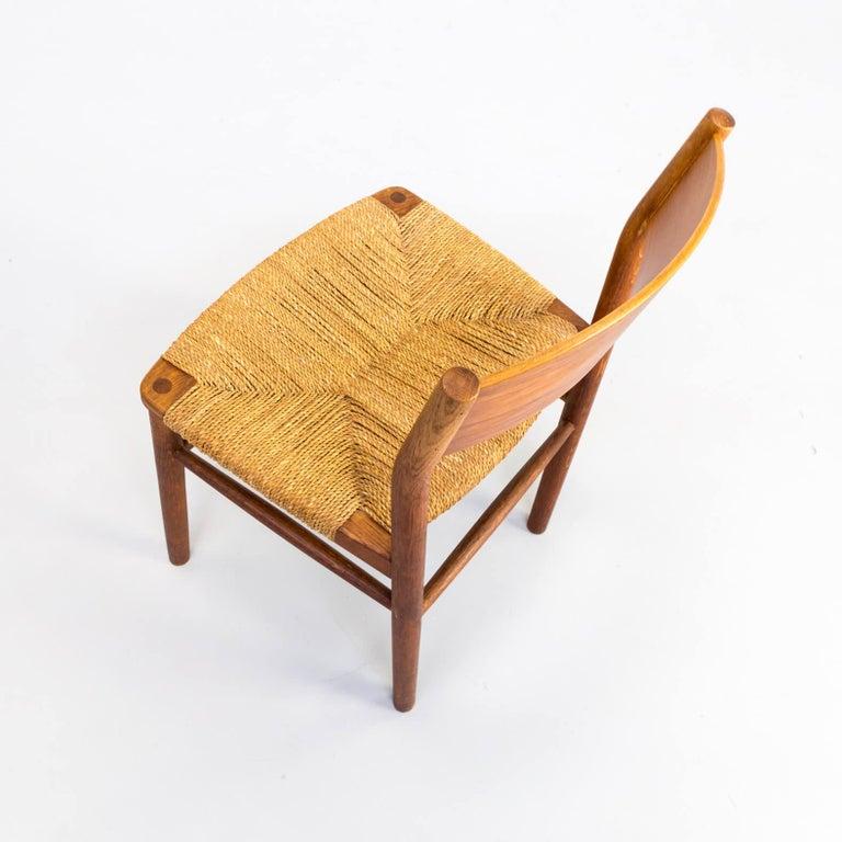 1950s Børge Mogensen 'model 157' Chair for Søborg Møbler Set of 2 For Sale 5