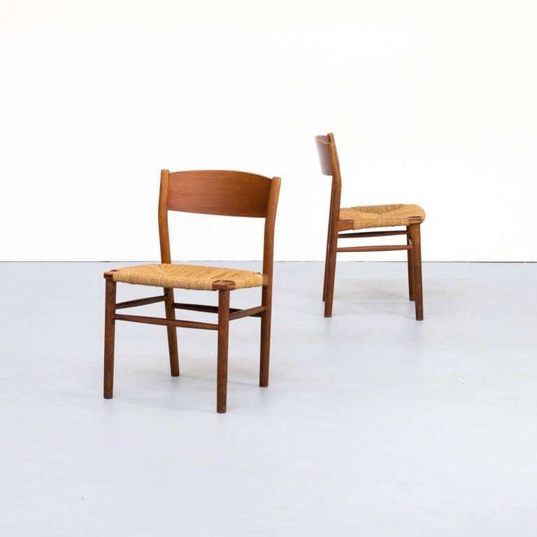 Designer Børge Mogensen was born in Aalborg, Denmark in 1914. He studied furniture design at the Copenhagen School of Arts & Crafts under esteemed Professor Kaare Klint from 1936–1938. Next, he studied at the School of Furniture at the Royal Academy