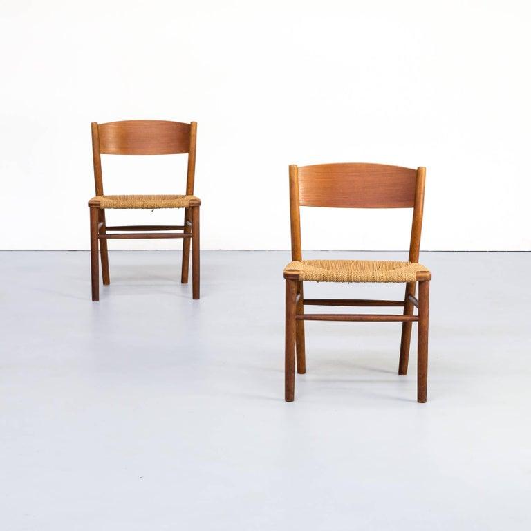 Danish 1950s Børge Mogensen 'model 157' Chair for Søborg Møbler Set of 2 For Sale