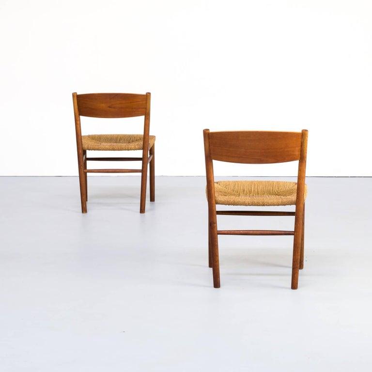 Teak 1950s Børge Mogensen 'model 157' Chair for Søborg Møbler Set of 2 For Sale