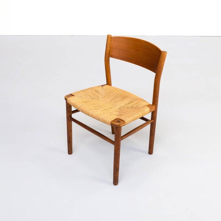 1950s Børge Mogensen 'model 157' Chair for Søborg Møbler Set of 2 For Sale 1