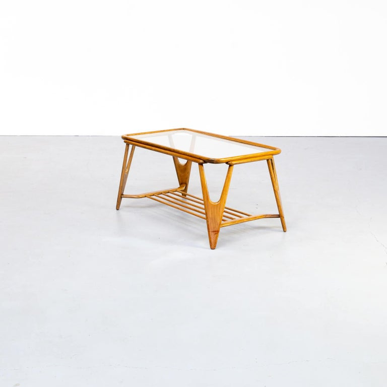 Mid-Century Modern 50s Cesare Lacca Coffee Table for Cassina For Sale