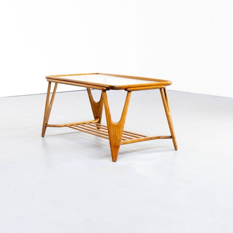 Mid-20th Century 50s Cesare Lacca Coffee Table for Cassina For Sale