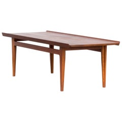 1950s Finn Juhl Fd532 Teak Coffee Table for France & Son