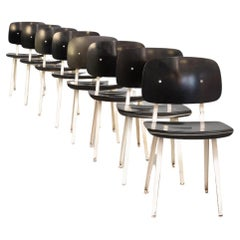 50s Friso Kramer 'revolt' Chair for Ahrend de Cirkel Set/8