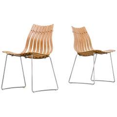 1950s Hans Brattrud 'Scandia' Chair for Hove Möbler Set/2